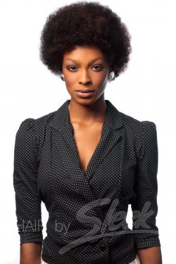 Afro Real Hair Wig