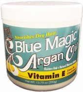 Blue Magic ARGAN OIL Vitamin E - 13.75oz jar