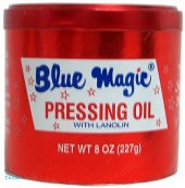 Blue Magic PRESSING OIL - 4oz red